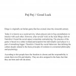Good Luck-tekst